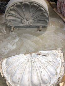 Restauratie ornamenten & gevelsierwerk - Restauratie ornamenten verdieping