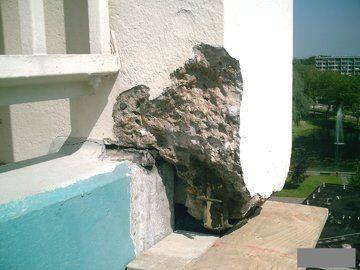 Betonreparatie - Betonreparatie verdieping