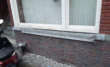 Verdieping bij contentblok betonschade - betonrenovatie verschillende projecten - foto projecten - Schade Raamdorpel