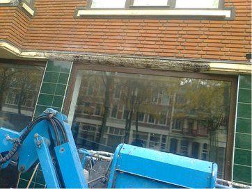 Verdieping bij contentblok betonschade - betonrenovatie verschillende projecten - foto projecten - Schade latei